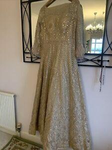 Skin Colour Formal Wedding Wear  Dress New