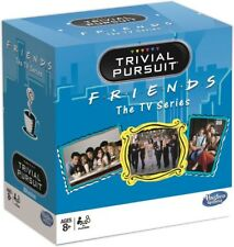 Hasbro 027342 Trivial Pursuit Friends TV Series Bitesize Mini Travel Board Game