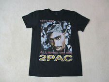 2pac Shakur All Eyez On Me Concert Shirt Adult Small Tupac Makaveli Hip Hop Mens