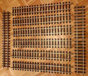 LGB 8x gerade Schienen 60cm