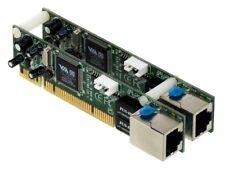 Dual 1u Ethernet Adaptador 2x rj-45 2x PCI 1gbe e197709 vt6122