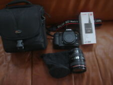 Canon EOS 5D  Mark III 22,3 mp Black Digital Camera with Lense 24-105 mm