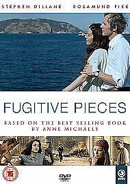 FUGITIVE PIECES DVD 2010 Stephen Dillane, Rosamund Pike (Anne Michaels) R2 EB03