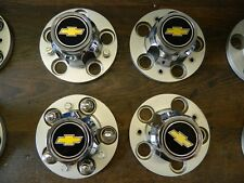 "1965-1996 Chevrolet C10-C20-G10-G20 Center Caps(4x) für ""Rally Wheel""-Felgen,GM"