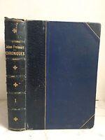 El Primer Libro Las Crónicas De Jehan Froissart Tomo Primer 1863