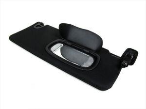 12-16 Dodge Dart Passenger Side Front BLACK Sun Visor W/ ILLUMINATED Mirror OEM
