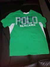 Ralph Lauren Polo Boys Green Short Sleeve Shirt Size S (8)