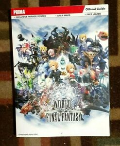 World of Final Fantasy Official Strategy Game Guide + Free E-Guide