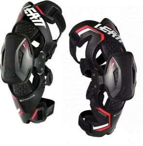 Leatt X Frame Motocross Race MX Offroad Knee Braces Per Pair Adults