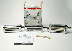 KitchenAid KPRA Pasta Roller & Cutter Set 3 Piece Fettuccine, Linguine, Flat