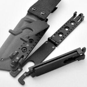 Gear Molle-Lok Kydex K Sheath Belt Clip Waist Clamp Scabbard For Molle