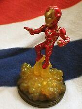 MARVEL IRON MAN model. Light Up figure. Q Fig FX. Captain America Civil War