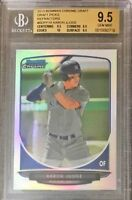BGS 9.5 w/10 AARON JUDGE 2013 Bowman Chrome REFRACTOR Rookie RC TRUE GEM MINT