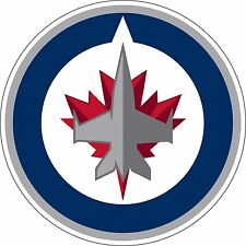 "Winnipeg Jets NHL Hockey bumper sticker window wall decor vinyl decal, 5"" x 5"""