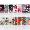 Stand Flip Foldable PU Leather Case Book Style Card Slot Cover For Mobile Phones