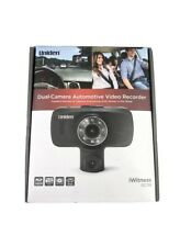 """New listing Uniden iWitness Dc115 Dual Dash Camera Video Recorder 1080p 30fps 2.7"""""""