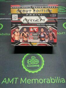 2021 UFC PRIZM RETAIL SEALED BOX 24 Packs EXCLUSIVE PINK PULSARS CONOR MCGREGOR?