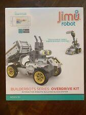 JIMU Robot Builderbots Series: Overdrive Kit STEM Learning Toys, Sealed NIB