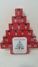 Starbucks Christmas Tree Advent Calendar 2007 with Reversible Drawers Empty