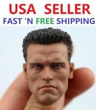 1/6 Arnold Alois Schwarzenegger Head Sculpt 2.0 for Terminator T800 PHICEN M34