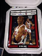 "1997 Michael Jordan ""IN THE ZONE"" Collector Plate Bradford EX/Upper Deck"