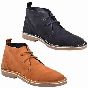 Ben Sherman Mens Desert Boots Lace up Suede Leather Hunt Chukka UK Size 6-12