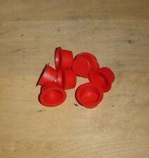 "New Tapered Plastic Cap Plug Size 9X (0.730""-0.827"") Red Quantity of 5 Caplugs"