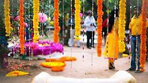 Wholesale 20 PCs Indian Wedding Decor Home Event  Artificial Flowers