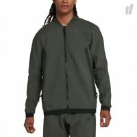 Nike Sportswear Tech Woven Track Jacket Newsprint Green Men's M NEW 928561-001
