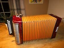 Hohner Corso Knopfakkordeon (Harmonica,Harmonika,Button Accordion,Acordeon)