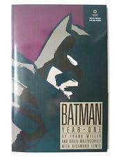 BATMAN YEAR ONE COMIC BOOK 1st PRINT / FRANK MILLER / DC COMICS 1988 / VF+ to NM