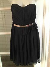 BNWT Stunning Mango Suit Strapless Dress Size:6 UK New