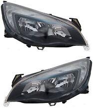 Vauxhall Astra J BRAND NEW PAIR BLACK Headlight Headlamp Light LAMP HALOGEN X2