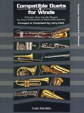 Compatible Duets For Winds Learn to Play Trombone Euphonium Bassoon Music Book