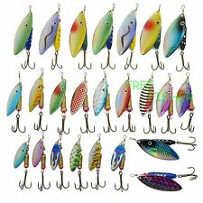 A0194 STOCK 30 PZ ARTIFICIALE SPINNING LURES SPINNER TROTA LUCCIO BASS PIKE LAKE