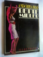 BETTE MIDLER.A VIEW FROM A BROAD.1ST S/B 1980 PHOTOS