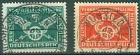 Deutsches Reich 370 - 371 , ** , *, o , Bfst , Deutsche Verkehrsausstellung 1925