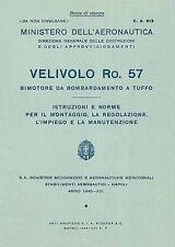 IMAM Ro.57 - ITALIAN WW.II TWIN ENGINED DIVE BOMBER - MANUAL 1943