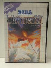 Master System - Ultima 4 / Ultima IV (mit OVP incl. Karte) 10634219