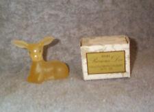 AVON Precious Doe Deer Bottle, Original Box  & .5 FL OZ Field Flowers Cologne!