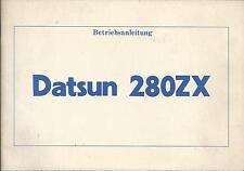 DATSUN 280 ZX Betriebsanleitung 1981 Bedienungsanleitung Handbuch S130  BA