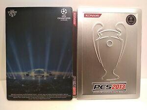 """Steelbook PES / Pro Evolution Soccer 2013 - """"G1"""" - Sans le jeu - Très bon état"""