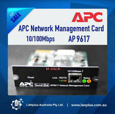 APC AP9617 10/100Mbps Network Management Card 4 Smart UPS Warranty Express Post