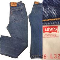 "Vintage Levi's 517 Jeans Orange Tab Made In USA Sz 36 32 (34"" Waist)"