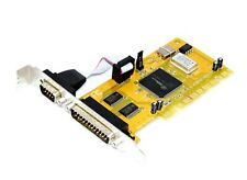 Exsys EX-41092 6200TC Pci-E Serial Parallel Adapter Controller Graphic Card