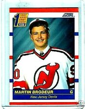MARTIN BRODEUR 1990-91 SCORE ROOKIE PLUS 40 MINT ALL DIFFERENT CARDS