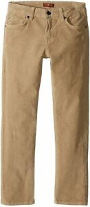 7 For All Mankind Kids Boys Slim Slimmy Straight Corduroy Pants Jeans NWT 14