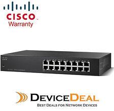 Cisco SF110-16 16-port 10/100 Unmanaged Switch