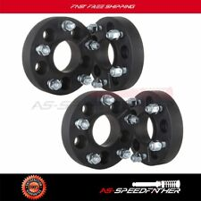 Full Set 5x4.5 to 5x5 1.25'' Adapter wheel spacers fits  Jeep JK Rims On A TJ YJ