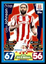 Match Attax 2017/2018 Glen Johnson Stoke City No. 256